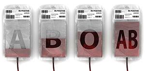 Blodgrupper i påsar